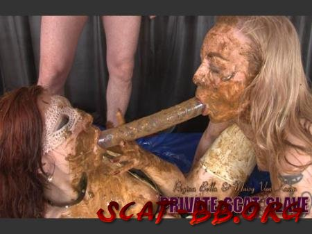PRIVATE SCAT SLAVE (Regina Bella, Maisy van Kamp, 1 Male) 28 November 2017 [HD 720p] 862 MB
