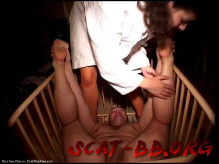 Shit in the diaper in the crib and she licked all his shit (ScatGirl) 15 December 2017 [SD] 383 MB