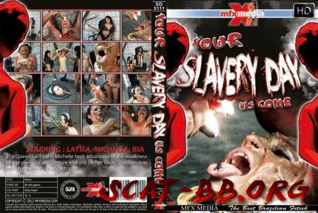 [SD-3111] Your Slavery Day has come (Latifa, Mochelle, Bia) 28 March 2018 [HDRip] 1.27 GB