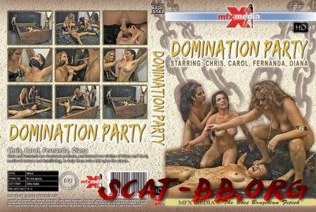 SD-5142 Domination Party (Chris, Carol, Fernanda, Diana) 30 March 2018 [HDRip] 1.25 GB