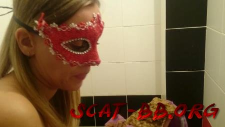 Shiting in panties, 3 month of pregnancy (Brown wife) 15 June 2018 [FullHD 1080p] 725 MB