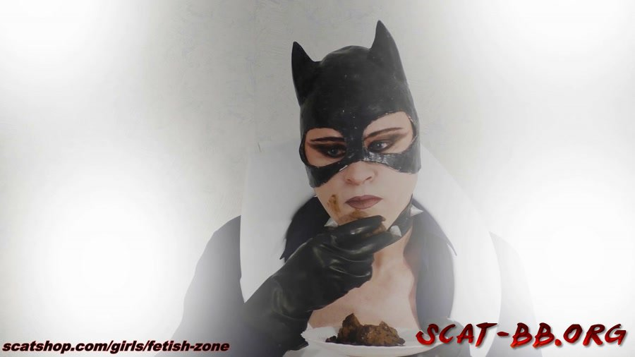 Catwoman smears and swallows (Fetish-zone) 12 January 2019 [FullHD 1080p] 1.56 GB