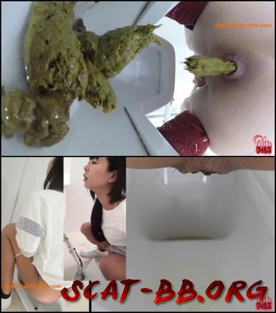 Public toilet and close-up defecation girls. (Closeup, Filth plus) 5 February 2019 [FullHD 1080p] 323 MB