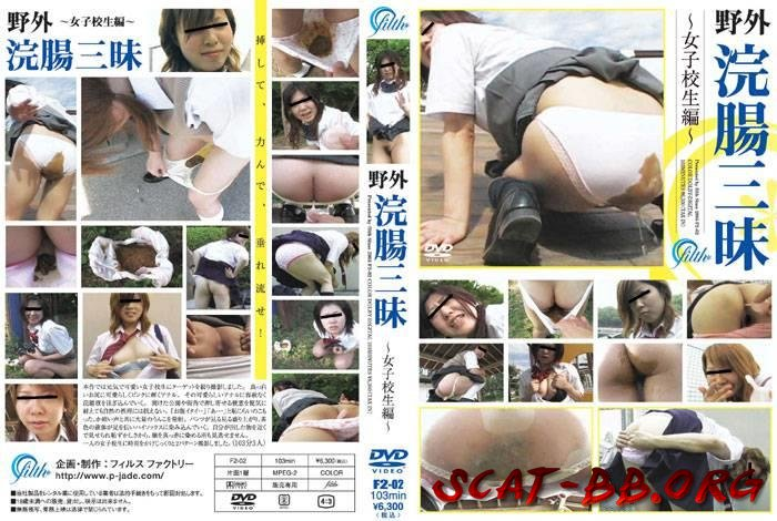Schoolgirls panty pooping on outdoor. (Outdoor scat, Schoolgirl) 20 February 2019 [SD] 1.75 GB