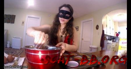 Slave Deserves A Treat! Baking Poop Muffins (LoveRachelle2) 2 April 2019 [UltraHD 4K] 1.37 GB